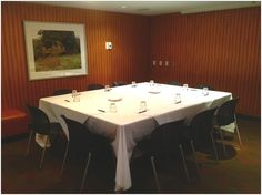 Boutique style boardroom at OPUS Vancouver