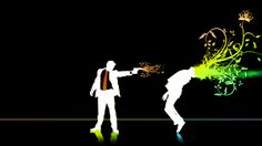 HD wallpaper: man shooting another man illustration, men, abstract, death, life Wallpaper Downloads, Wallpaper Backgrounds, 1080p Wallpaper, Galaxy Wallpaper, Blood Wallpaper, 4k Wallpaper For Mobile, Man Illustration, Pink Abstract, Original Wallpaper