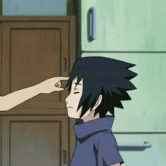 ¡icons e imagenes de animé para compartir con tus amigos o pareja! Sasuke E Itachi, Anime Naruto, Naruto Meme, Naruto Shippuden Anime, Boruto, Sasunaru, Anime Guys, Look Wallpaper, Naruto Wallpaper