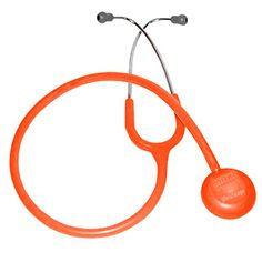 Orange Stethoscope!