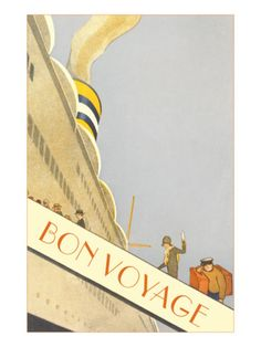 Vintage Travel Poster (Will the cruise to Alaska be instrumental in saving Lisa and Joe's marriage?)