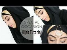 ▶ HIJAB TUTORIAL   Special Occasion Hijab style - YouTube