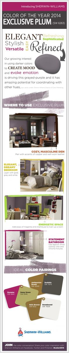Sherwin-Williams 2014 Color of the Year on SixSistersStuff.com.  Come see how how to incorporate the color of the year into your home decor! #sixsistersstuff