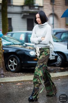 Yoyo Cao by STYLEDUMONDE Street Style Fashion Photography