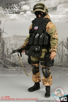 1/6 Figure Accessories Russian Spetsnaz-Officer of FSB Alfa | Man of Action Figures