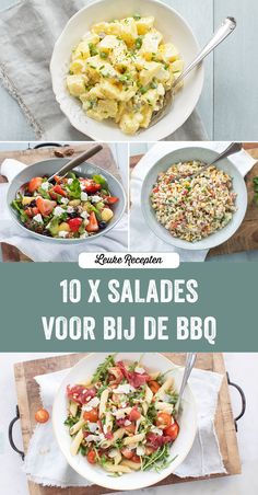Great Recipes, Favorite Recipes, Superfood Salad, Bbq Party, Barbecue, Good Food, Food And Drink, Veggies, Cooking Recipes