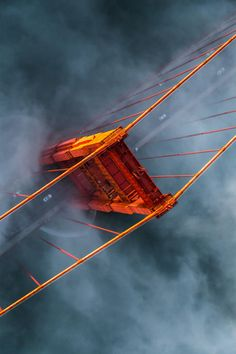 Stunning image of Fog on Golden Gate, San Francisco, United States.| California by Henry Lee