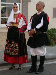 034-Costumi tradizionali dei comuni della Sardegna