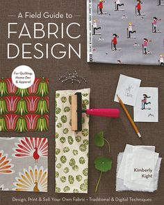 If you have ever dreamed of showing your designs on fabric, textile aficionado Kim Kight, of popular blog True Up, is here to teach you how. Comprehensive and refreshingly straightforward, this impressive volume features two main parts. First, the Design and Color section explains the basics with step-by-step tutorials on creating repeating patterns both by hand and on the computer. Next, the Printing section guides you through transferring those designs on fabric-whether it's block…