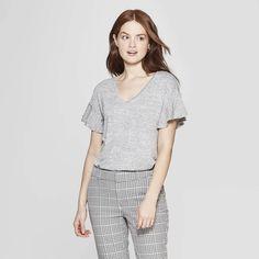6ff15a44cbf Women s Short Sleeve Ruffle T-Shirt - A New Day™