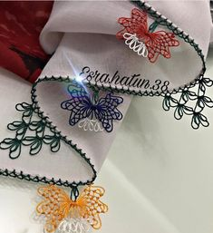 No photo description. No photo description. Tatting, Embroidery, Sewing, Model, Instagram, Fabric Crafts, Stitching, Jewelry, Ribbons