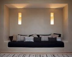 Maison Malou is in LOVE with the moroccan techique Tadelakt, and love this cool room! Interior Design Software, Home Interior Design, Model House Plan, Tadelakt, Diy Sofa, Piece A Vivre, House Layouts, Interiores Design, Soft Furnishings