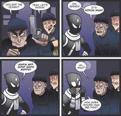 #ninjaman #comic #comicstrip #hawaii
