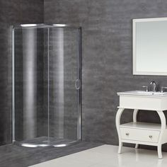 This stylish, bypass shower enclosure is designed to save space and create a corner focus piece to any styled bathroom. With an integrated design, beauty and functionality, this model is the ideal shower solution.