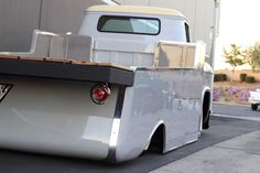 This is ODIN a Max Grundy Design 1955 Chevy LCF light duty hauler.