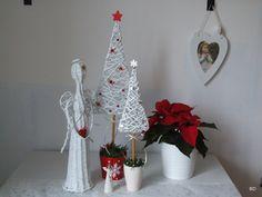 Pleteme z papíru a různé dekorace - Fotoalbum - Košíky 2014 - Vánoce 2014