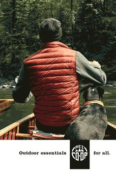 I'll be your pillow at camp. Your warmth on the trail. Your backup layer. And first mate of the lake. Wherever you roam, I'll be there, too. Because you and I were made for the outdoors. Meet REI Co-Op our new brand of outdoor essentials. Shop for men's and women's vests and jackets in an array of colors at REI.com.