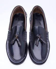 6ef454bb64b MERTON - Dark Midnight navy  hi shine  leather upper. SoleLoafersMoccasinsBoat  ShoesLoaferPenny Loafer