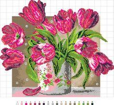 "Gallery.ru / 851 - Схемы для наборов с ""печатной"" канвой www.pcstudia.ru - Pentiu-M"