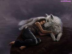 dziewczyna wilk