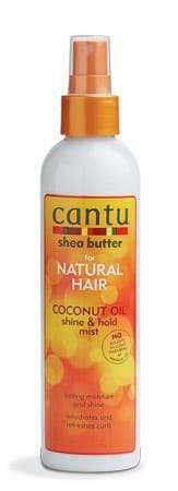 Cantu Coconut Oil Shine & Hold Mist (8 Oz)