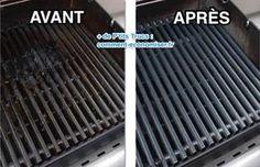 Votre grille de barbecue est complètement noire ? Heureusement, il existe 3 astuces magiques pour dégraisser les grilles du barbecue sans utiliser de produits nocifs :-) Découvrez l'astuce ici : http://www.comment-economiser.fr/3-recettes-pour-nettoyer-et-degraisser-la-grille-du-barbecue.html?utm_content=buffer7e3a1&utm_medium=social&utm_source=pinterest.com&utm_campaign=buffer