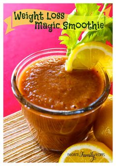 This magic smoothie is great way to add variety to your diet with our Weight Loss Magic Soup! This healthy drink is similar in taste to a Virgin Mary.