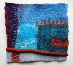 Fi@84 Felt, hand stitch. | Flickr - Photo Sharing!