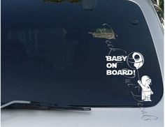 #deckitoutdecals  EDE00048 Baby Darth Vader on Board by DeckItOutDecals on Etsy