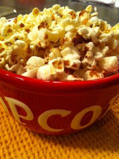 Cinnamon-glazed Popcorn - another gem from 100 Days of Real Food!