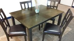 THE LIQUIDATORS - New from Home Elegance 5 piece dining set $298.00