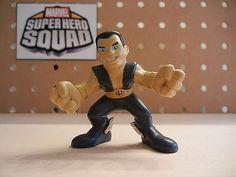 Marvel Super Hero Squad RARE Namor Sub Mariner from Wave 3 Fantastic Four | eBay