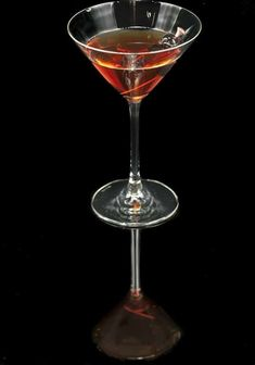 Cocktail a la Louisiane-A terrific and forgotten classic cocktail that's easy to make and will put you among the elite of bar patrons when you order it out.