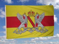 -Großherzogthum Baden Flagge - Flaggen, Fahnen, Fanartikel, Fanartikelshop, Fahnenshop, Flaggenshop, Nationalflaggen