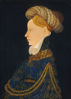 unknown Franco-Flemish Master,Portrait of a lady,National Gallery of Art. Renaissance Kunst, Renaissance Portraits, Italian Renaissance, Medieval Clothing, Historical Clothing, 15th Century Clothing, Late Middle Ages, European Paintings, National Gallery Of Art