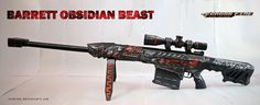 Crossfire - Barrett Obsidian Beast Rifle Paper Model - by Svanced Paper Toys, Paper Crafts, Drugs Art, Papercraft Download, Most Played, First Person Shooter, Cosplay Tutorial, Crossfire, Types Of Craft