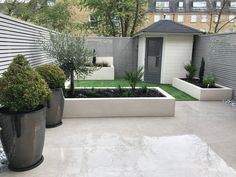 urban gardening - Michael Partridge Garden Design are a team of landscapers and landscape gardeners based in Harrogate Garden designers offering you creative and distinctive solutions for your garden Small Back Gardens, Small City Garden, Small Backyard Gardens, Small Backyard Landscaping, Outdoor Gardens, Small Back Garden Ideas, Small Garden Layout, Backyard Patio, Back Garden Design