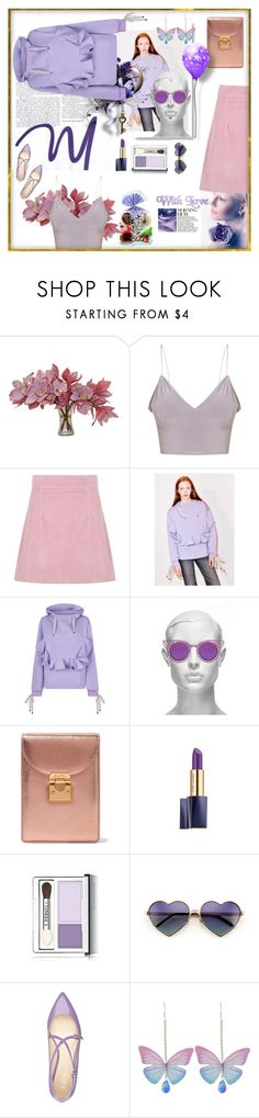 """""""Lilac and pink"""" by lizart ❤ liked on Polyvore featuring The French Bee, House of Holland and Wildfox"""