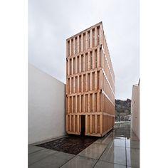 Museo del Agua en Lanjaron, Granada. Arquitecto: Juan Domingo Santos        by Antonio_Luis, via Flickr