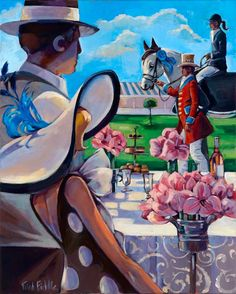 :: Trish Biddle Fine Art :: Home :: Glamorous Women in Fabulous Places :: Eva Longoria :: Kentucky Derby :: Westminster Dog Show :: Hamptons Classic :: Del Mar