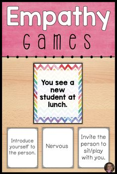 These empathy games for kids are great activities for your social skills or friendship small groups and classroom school counseling lessons! Students will learn to identify feelings in others and learn to react appropriately.