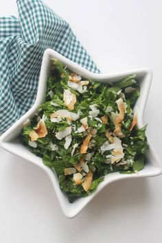 Recipe: Ginger-Sesame Kale Salad with Toasted Coconut - https://paindoctor.com/recipe-ginger-sesame-kale-salad-with-toasted-coconut/ #paindoctor #painmedicine #chronicpain