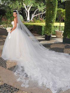 "On her 2011 wedding:  ALLURE: ""Anything you'd like to say?"" Kim Kardashian: ""No."""