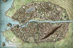 A quick map of the city of Northgate; ruling city in The Landing in the High Marches. This was mainly a practice map since I've got a fairly limited und. Northgate City Map (old) Fantasy City Map, Fantasy World, Dungeons And Dragons, Plan Ville, Village Map, Map Layout, City Layout, Rpg Map, Forgotten Realms