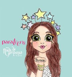 💙Karol Sevilla in Parateens💙 Arte Disney, Disney Art, Anime Kawaii, Kawaii Girl, Disney Drawings, Cute Drawings, Cartoon Girl Drawing, Vampire, Son Luna