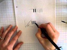 ▶ Les bases de la calligraphie, vidéo 3 - YouTube