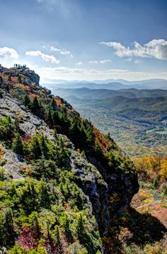 Grandfather Mountain. Blue Ridge Parkway. Linville, NC