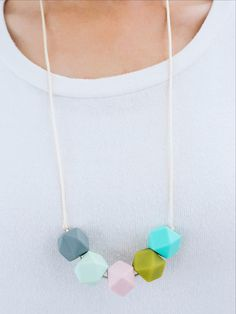 Lolli and Jo teething jewelry - cute enough to wear without the baby around