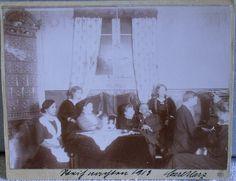 Carl Harz, Weihnachten 1913