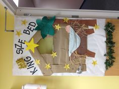 My preschool door for Christmas...